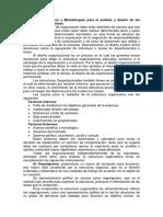(Tema v. Instrumentos y Metodologías Para El Análisis y Diseño de Las Estructuras Org.)