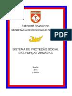 Cartilha Do Sistema de Protecao Social Das Forcas Armadas 1a Edicao 2016