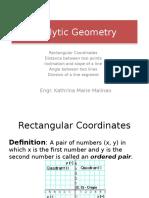 Analytic Geometry 1