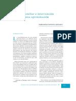 Política Familiar e Intervención Familiar