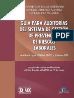 Guia Para Auditorias Del Sistema de Gestion de Prevencion de Riesgos Laborales