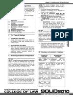 Subsequesnt Registration