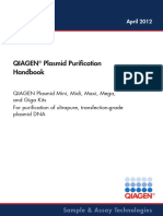 QIAGEN Plasmid Purification Handbook April 2012