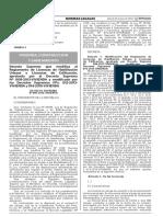 DS que modifica al Reglamento de Habilitaciones y Licencias Edificación