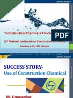 Construction Chemicals Lnt Presentation