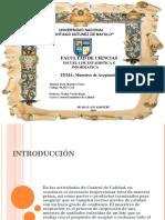 MUESTREO Y CURVAS DE ACEPTACIÓN - DENY RAMIREZ.ppt