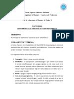 CARACTERÍSTICAS DE OPERACIÓN DE UNA TURBINA FRANCIS Y PELTON