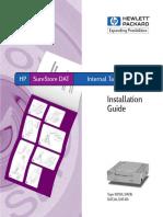 HP SureStore Tape 5000 Manual