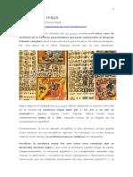 Culturas Prehispánicas - La Escritura Maya