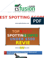 Best Spotting Scope Under 500 – Guides & Reviews No Animation