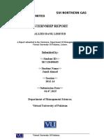 Internship Repot(1)