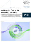 WEF Blended Finance How to Guide