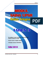 Modul Sains Upsr - Telegram - t3