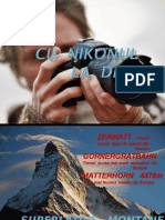 Zermatt Matterhorn ELVETIA Cu Nikonul La Drum-ir