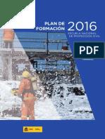 Plan de Formación Escuela Nacional de Protección Civil 2016