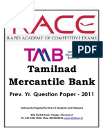 Tmb 2011 Question @