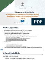 ICT E Governance