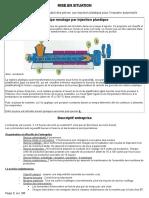 Etude de Cas Principe moulage par injection plastique