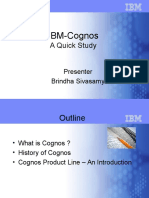 Cognos+Product+Line+Overview