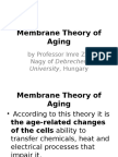 Membrane Theory of Aging and Hayflick Limit Theory