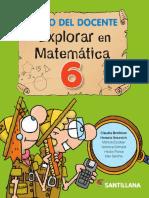 Explorar en Matemática 6 docente.pdf