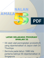 PENGENALAN AMALAN 5S
