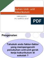 1. Penubuhan Unit-unit Koko