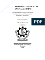 Behaviour of Shield Support in Longwall Mining