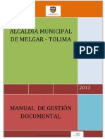 Manual de Gestin Documental Alcaldia Municipal