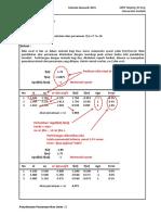 PenyelesaianPersamaanLinier-MetodeBagiDua