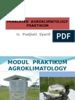 PERALATAN  PRAKTIKUM  AGROKLIMATOLOGY.pptx