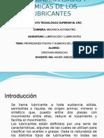 Myslide.es Propiedades Fisicas de Los Lubricantes Oscar Delgado Morales Oscar Orozco Ruvalcaba Aldo Ernesto Yuen Franco Jose Eduardo Rodriguez Cortez 1a 06072011 (1)