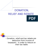 Topic 5 Donation Relief and Rebate