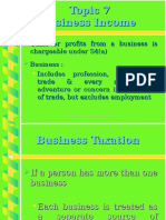 Topic 7 Business Income