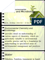 5-Environmental Chemistry and Microbiology