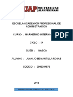 Trabajo Academico Marketing Internacional