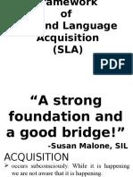 Theoretical Framework of SLA