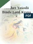 Mother Yasoda Binds Lord Krsna