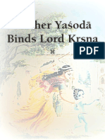 Mother Yasoda Binds Lord Krsna