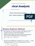 Newton Raphson(NM)