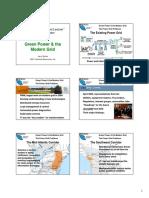 IEEE Seminar GreenPowerAndModernGrid ByJRamie
