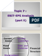 Topic 7 - Financial Leverage - Part 2