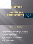 Topic 9 Tax Administration