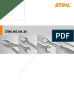 Stihl MS361 Service Manual