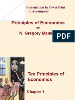 Chapter 1 in Principes of Economics