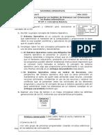 Sistemas Operativos - TP 01