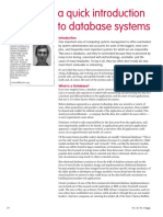 An Introduction of DB System