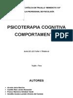 Psicoterapia Cognitivo-comportamental