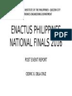 Enactus Philippines National Finals 2016