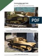 Surviving Italian Light Tanks